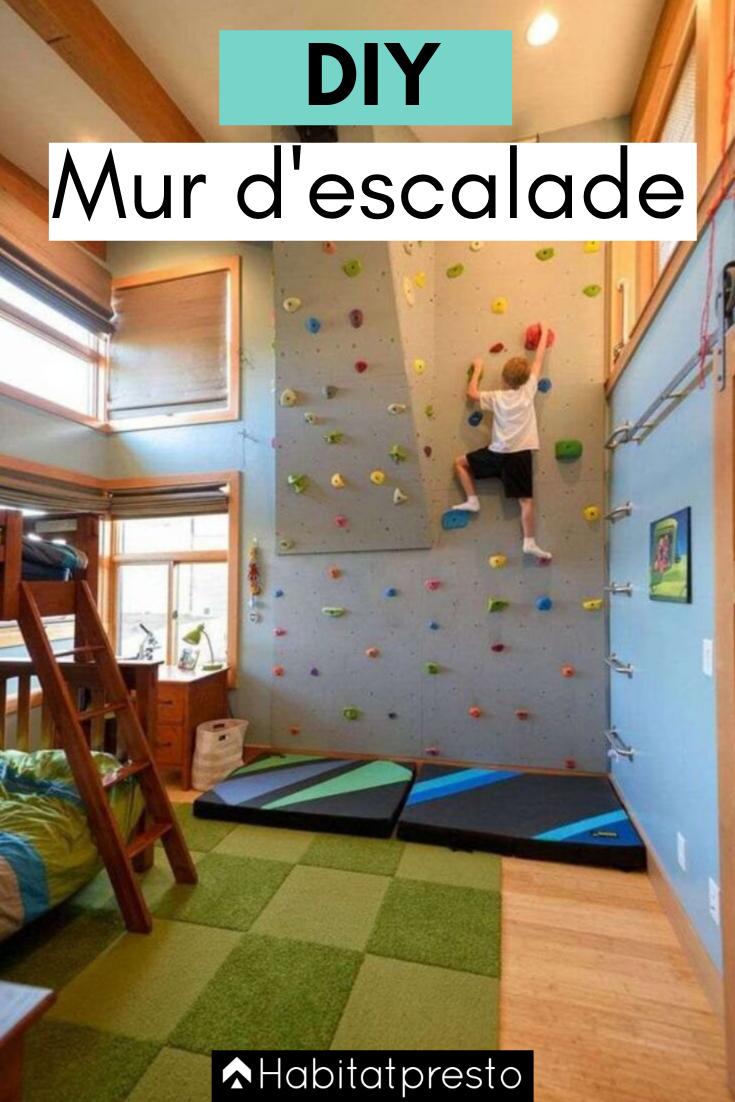 Diy // Comment Fabriquer Un Mur D'escalade Chez Soi ? | Idée ... avec Mur D Escalade Pour Jardin