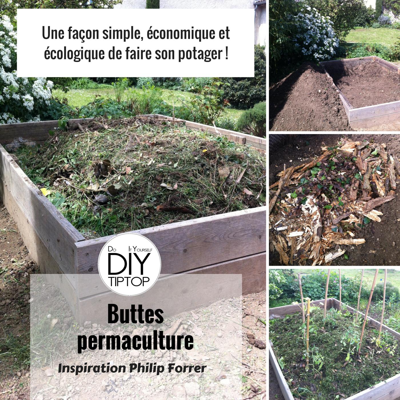 Diy – Un Potager Bio Sur Ma Terrasse Et Dans Le Jardin ... dedans Faire Un Jardin Pour Les Nuls