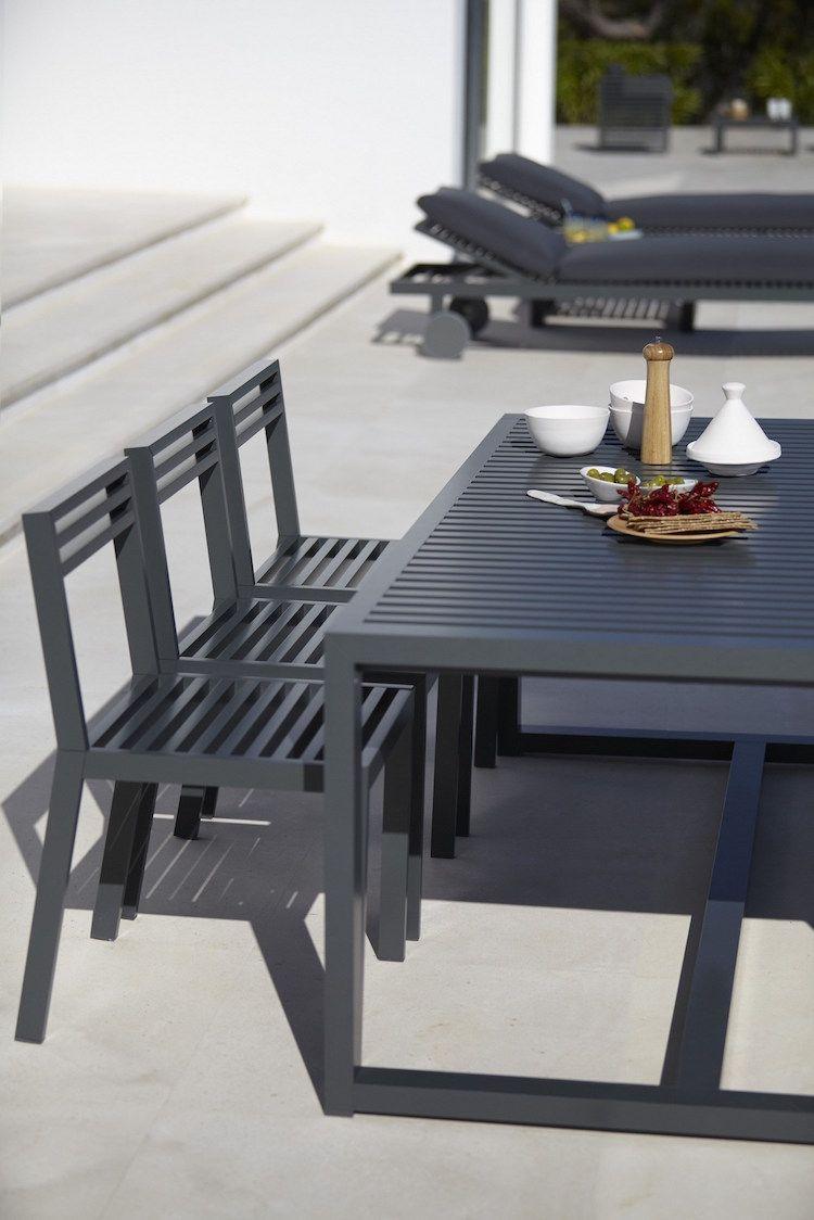 Dna | Gandia Blasco | Table Et Chaises, Chaise De Jardin serapportantà Table Et Chaise De Jardin Design