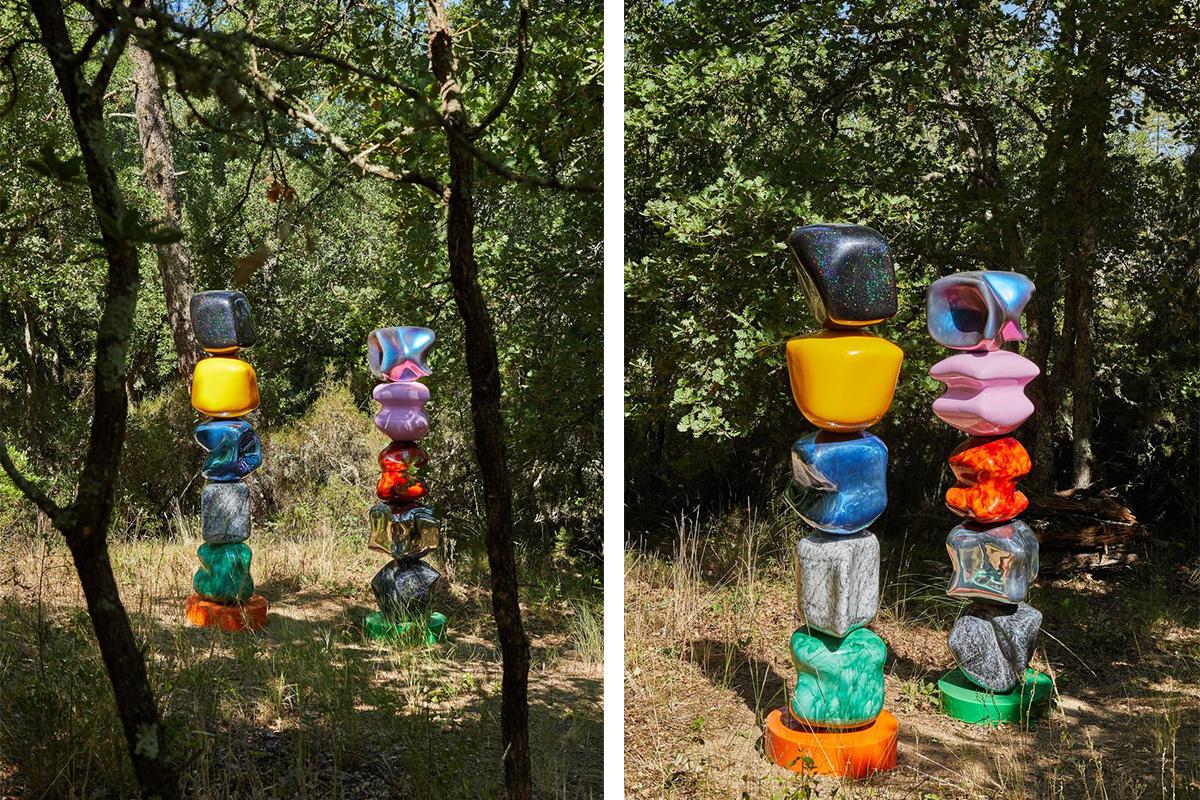 Domaine Du Muy, Le Muy (Var), John M. Armleder, Atelier Van ... encequiconcerne Jardins Animés Sculpture
