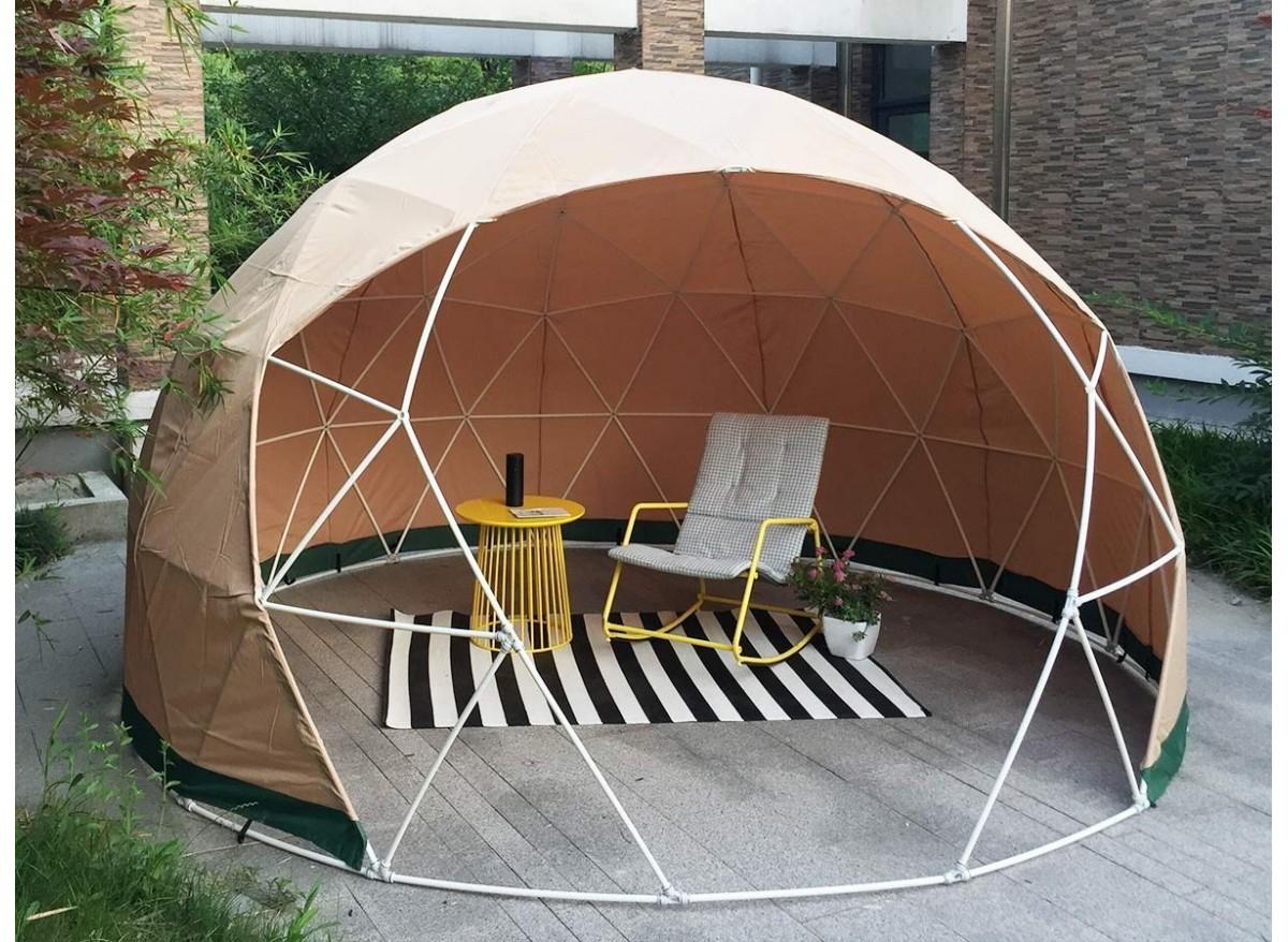 Dôme Abri De Jardin Jard'igloo + Couverture Hiver - Jardideco - serapportantà Bulle De Jardin Prix