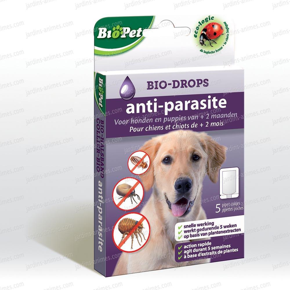 Dosette Écologique Chien Insectifuge X5 avec Produit Anti Tique Pour Jardin