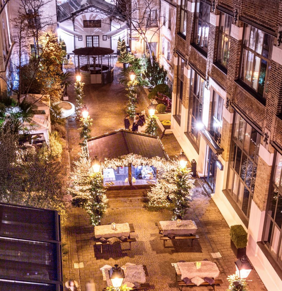 Du Chocolat Tout L'hiver Aux Jardins Du Marais – Paris ... destiné Jardin Du Marais Hotel Paris