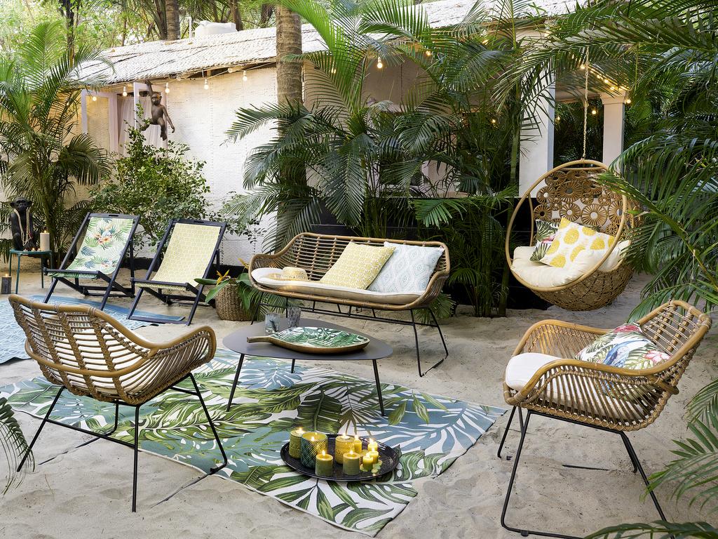 Du Mobilier De Jardin En Rotin... Ou Presque - Joli Place encequiconcerne Salon De Jardin En Soldes