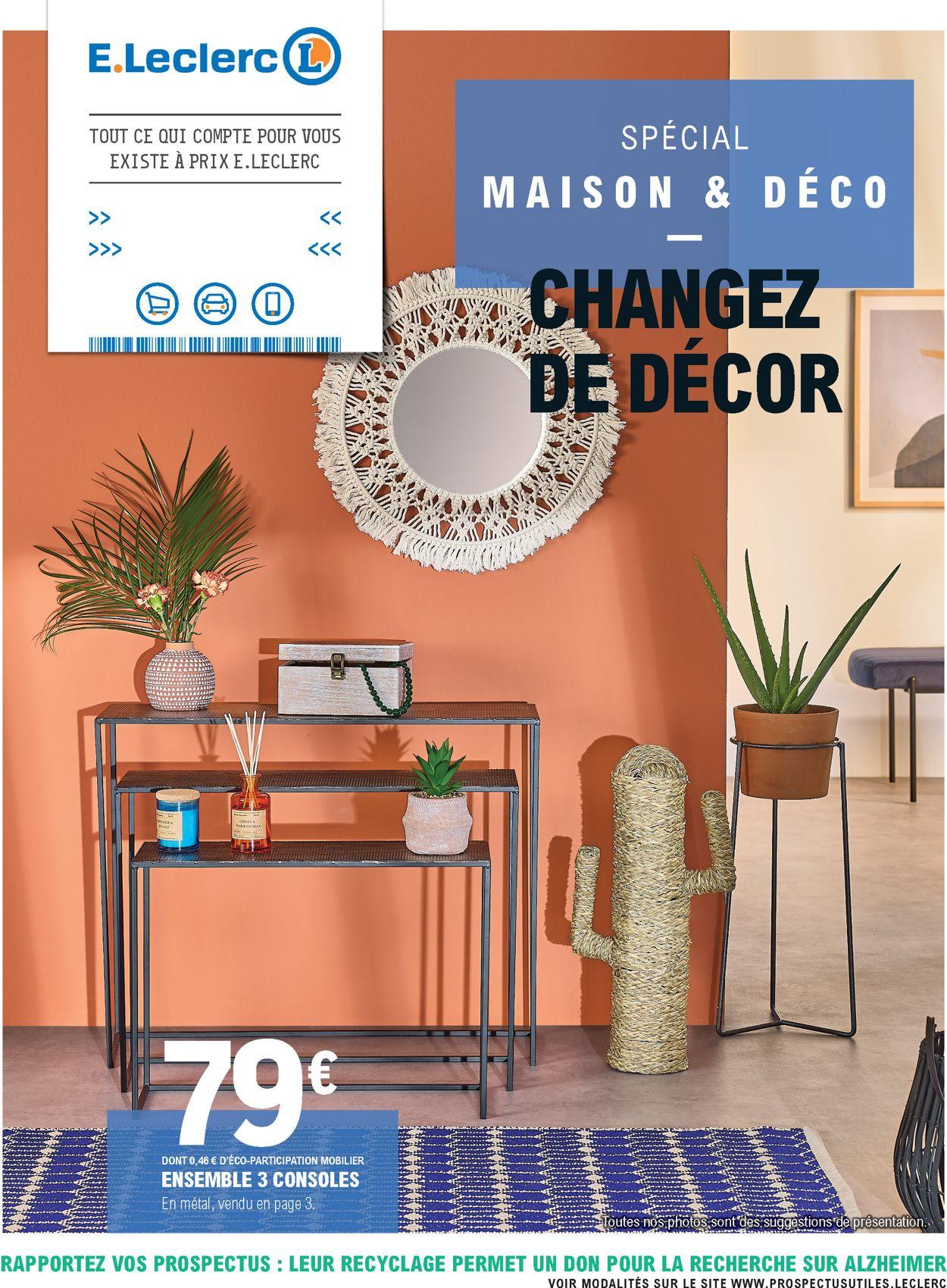 E.leclerc Catalogue Actuel 10.03 - 21.03.2020 - Catalogue-24 destiné Mobilier De Jardin Leclerc
