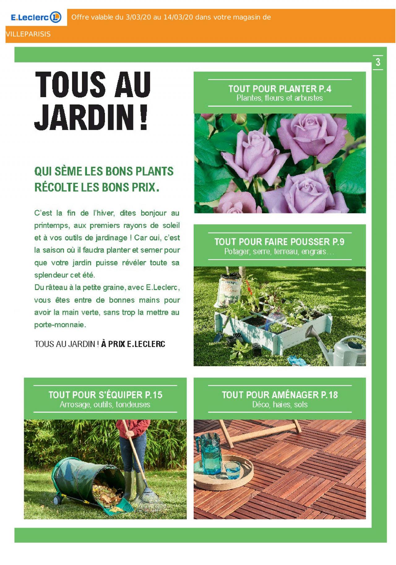 E.leclerc Solde Du 03/03/2020 | Kupino.fr tout Tondeuse Leclerc Jardin