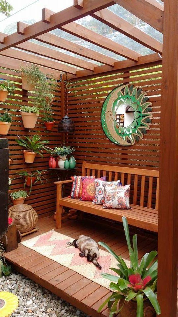 ▷ 1001 + Idée Déco Terrasse Pour Votre Espace Extérieur + ... destiné Decoration Pour Mur Exterieur De Jardin