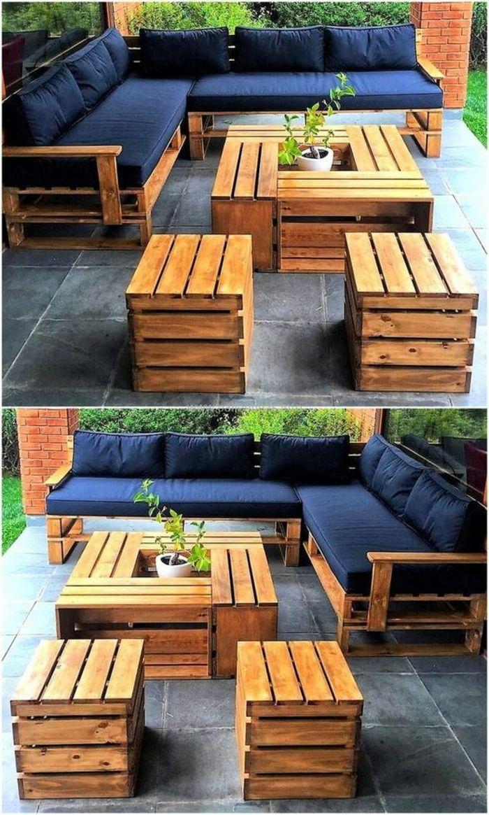 ▷ 1001 + Idées Pour Des Meubles De Jardin En Palettes + ... tout Meubles De Jardin Ikea
