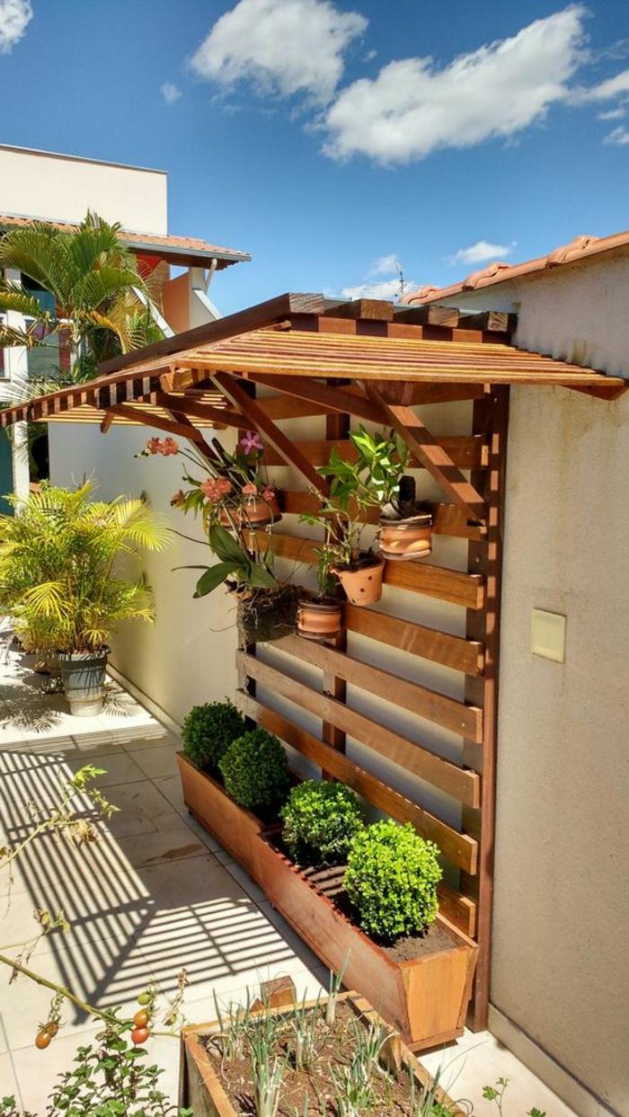 ▷ 1001 + Idées Pour Habiller Un Mur Extérieur + Murs ... tout Pot Deco Jardin Exterieur