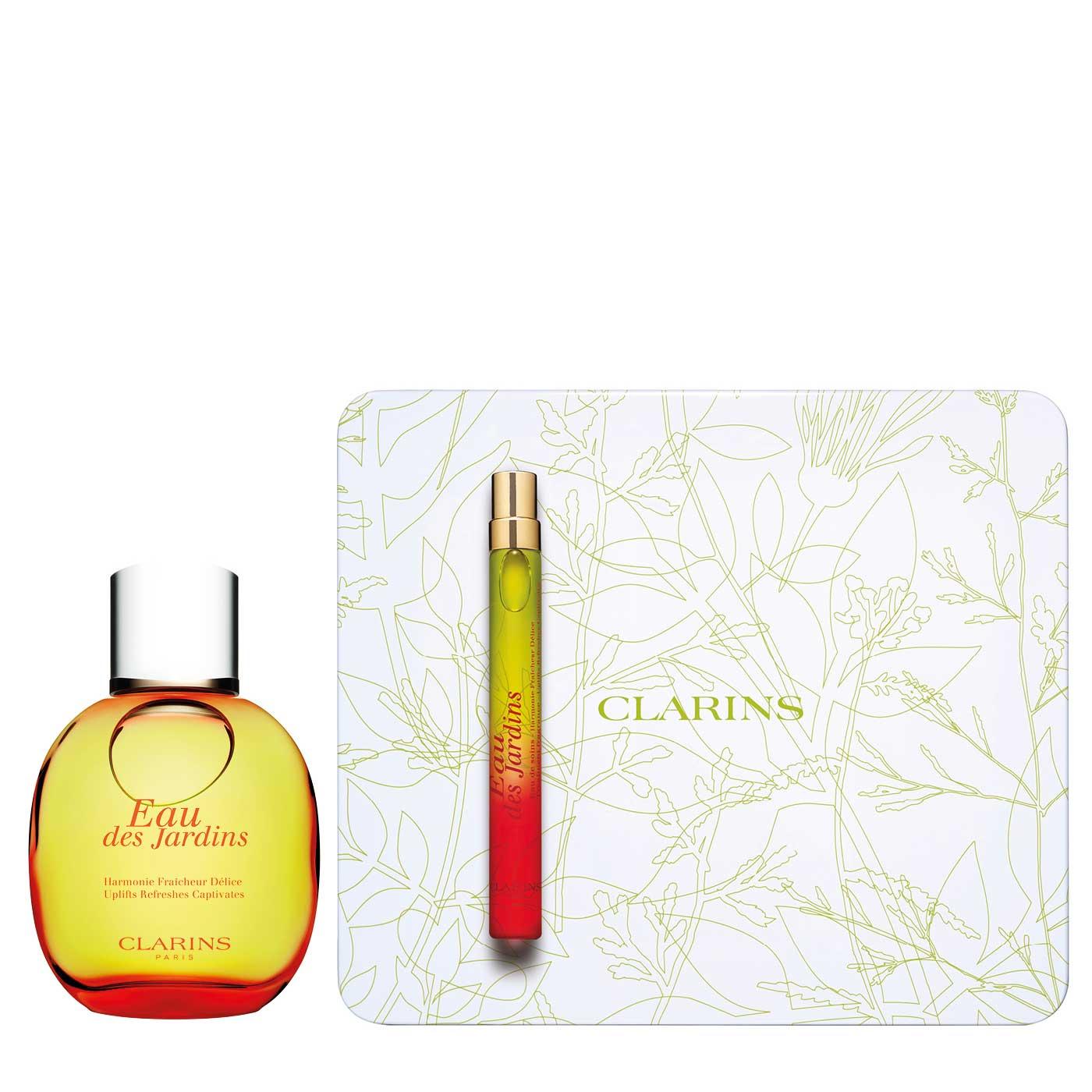 Eau Des Jardins Refreshing Collection avec Eau De Jardin Clarins