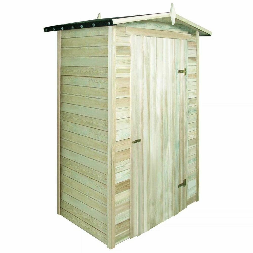 Ebay #sponsored Vidaxl Abri De Stockage Pour Jardin Pin ... avec Cabane A Outil De Jardin