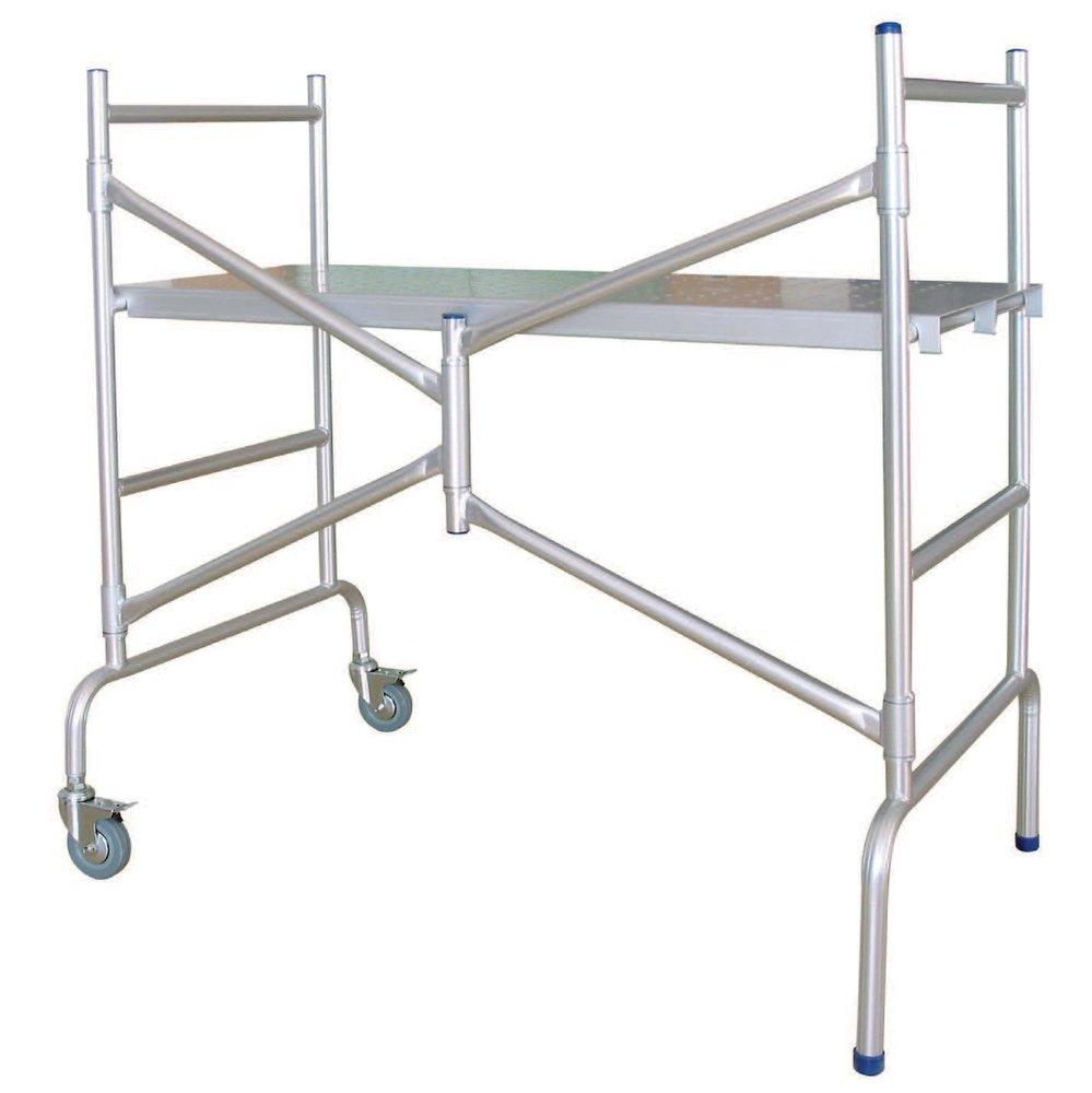 Echafaudage Pliable Aluminium | Bricomarché destiné Echafaudage De Jardin