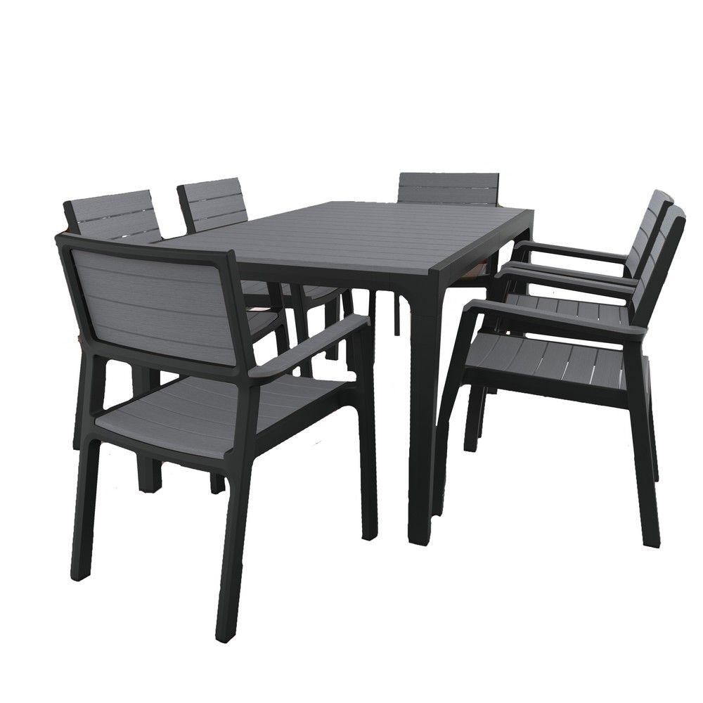 Éclat Site Web Original Table Salon 6 Personnes - Thqeef concernant Salon De Jardin En Resine Pas Cher