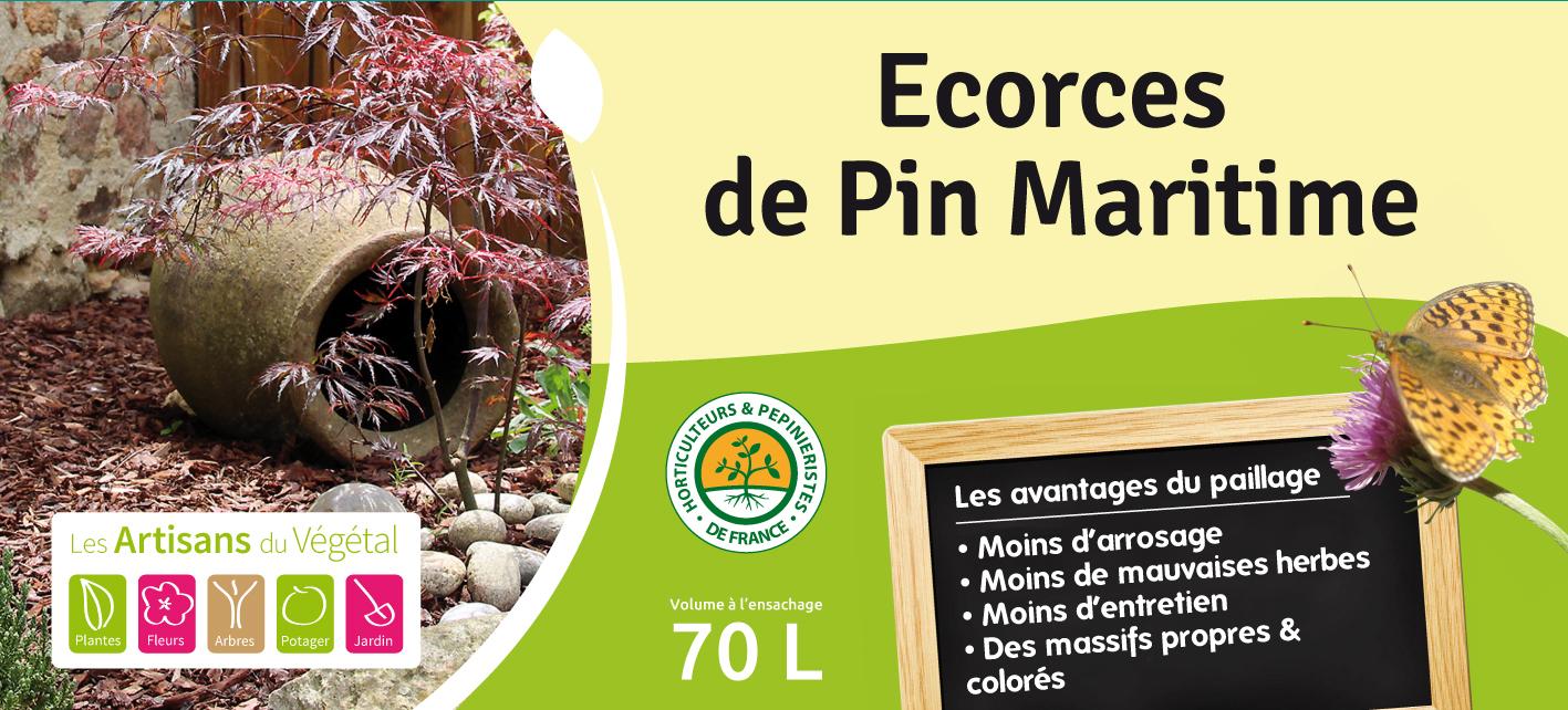 Ecorce De Pin Maritime tout Ecorces Jardin
