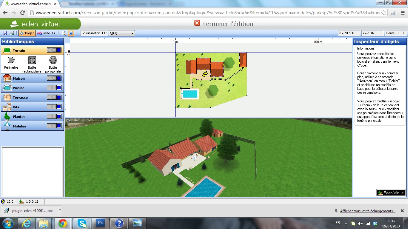 Eden-Virtuel Creer Son Jardin En 3D | Logiciels Jardins Le Guide destiné Créer Son Jardin En 3D Gratuit