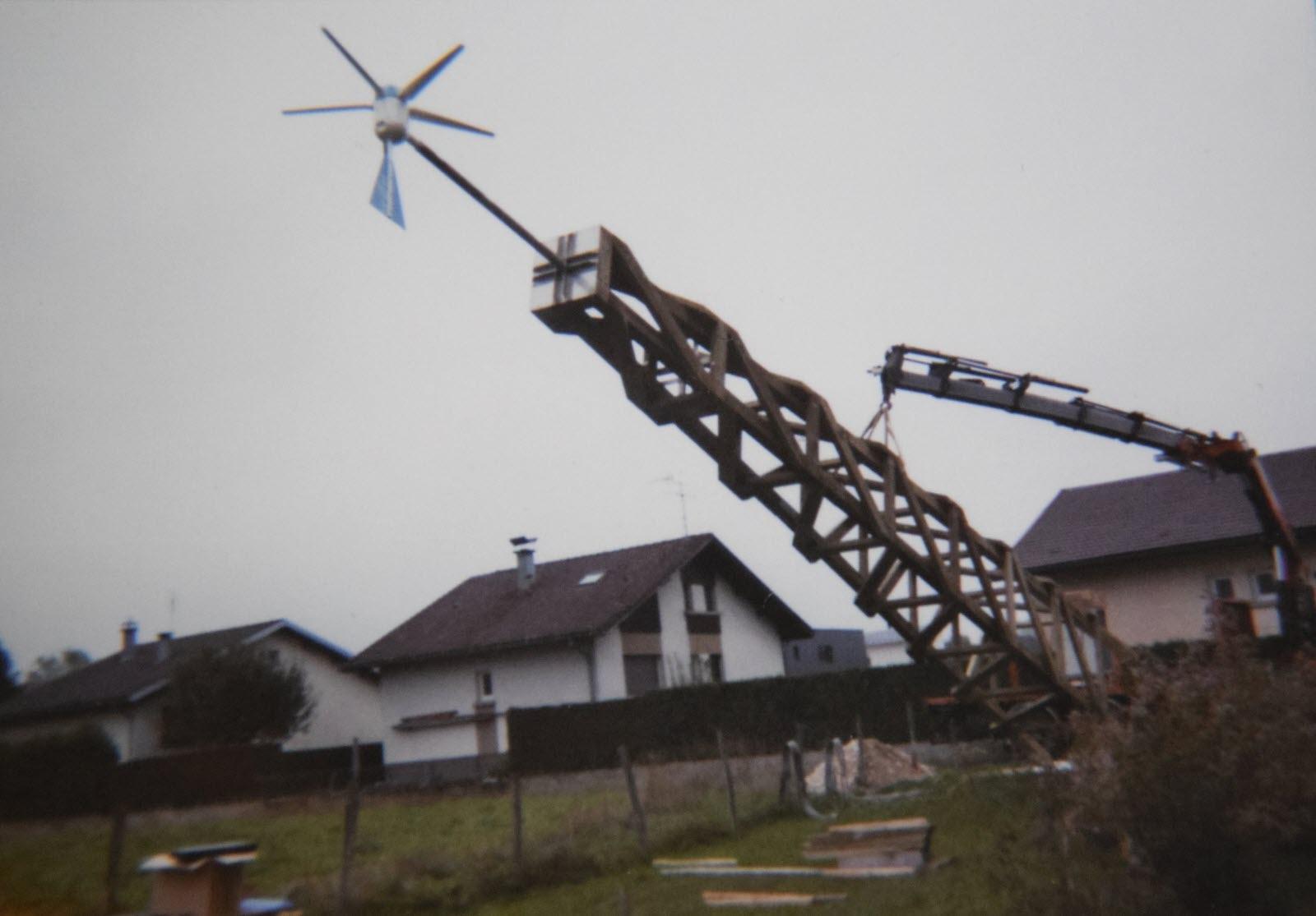 Edition Haut-Doubs | Haut-Doubs : Une Éolienne De 18 Mètres ... pour Construire Une Eolienne De Jardin