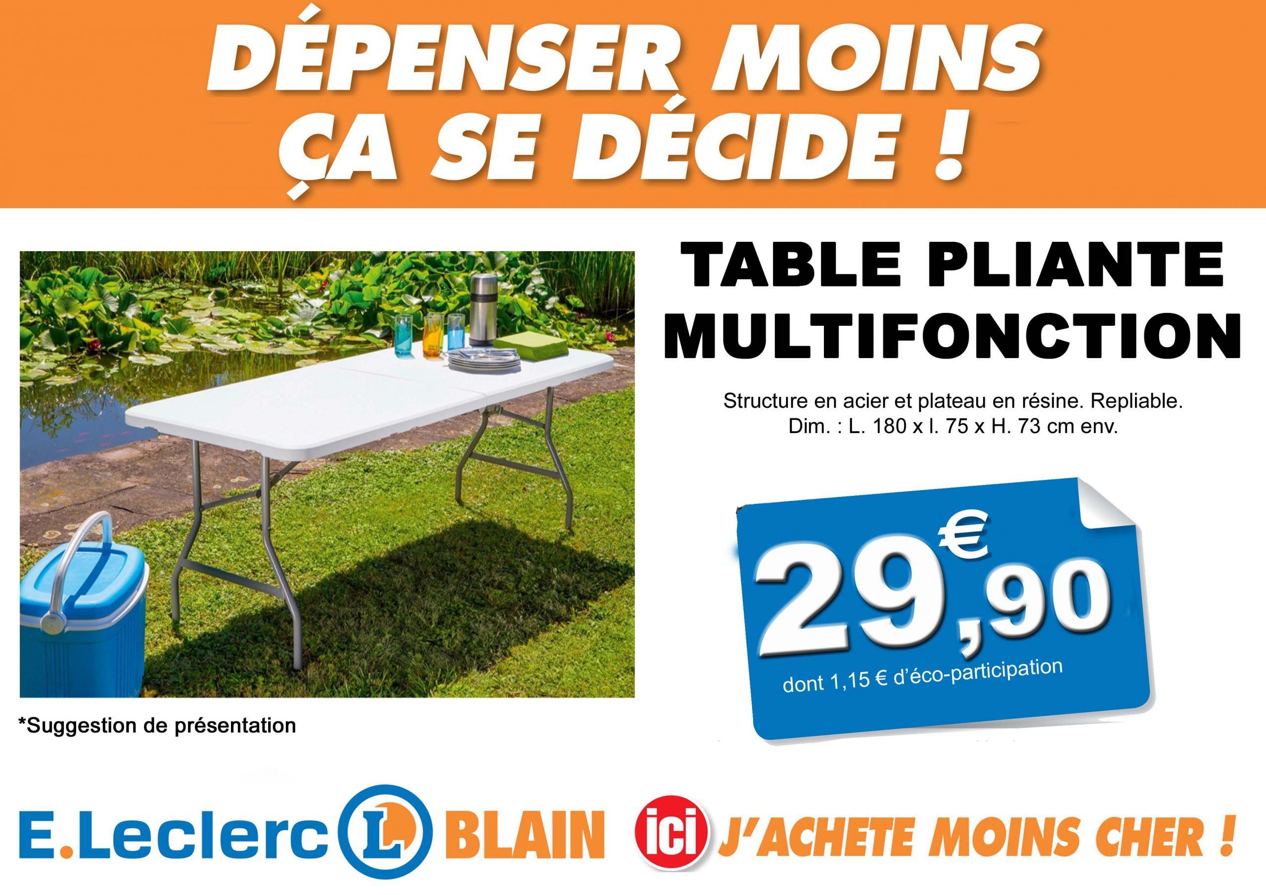 Eleclerc Blain Hypers Impressionnant Canape Leclerc Promo ... dedans Salon De Jardin Resine Tressée Pas Cher Leclerc
