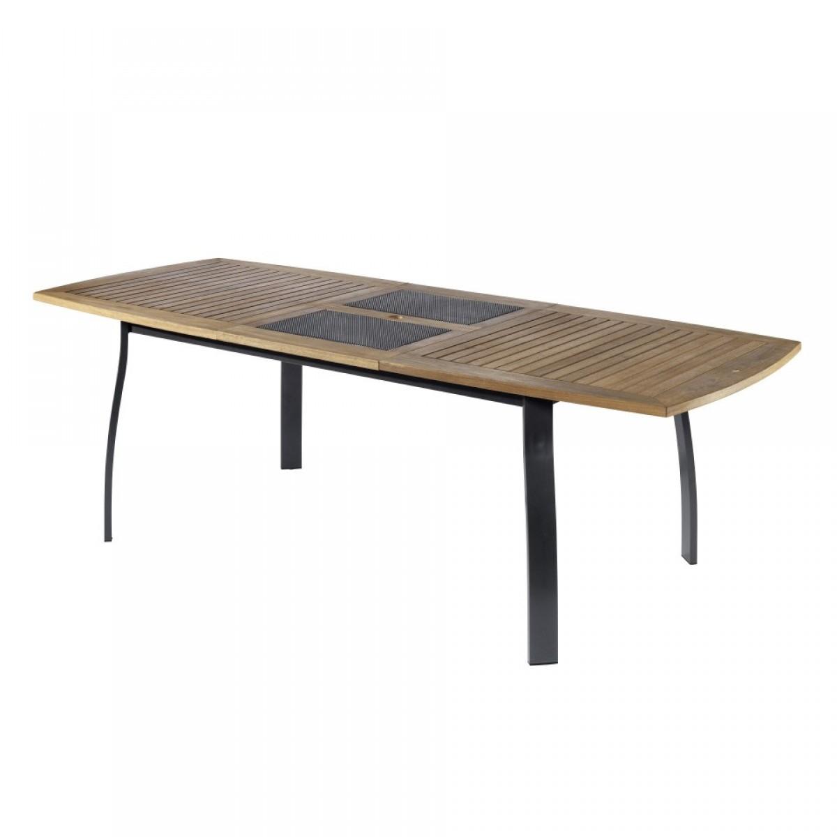 En Bois Deucalyptus Pour Un Bistrot Ou Pour Le Jardin Table ... pour Table De Jardin Pliante En Bois