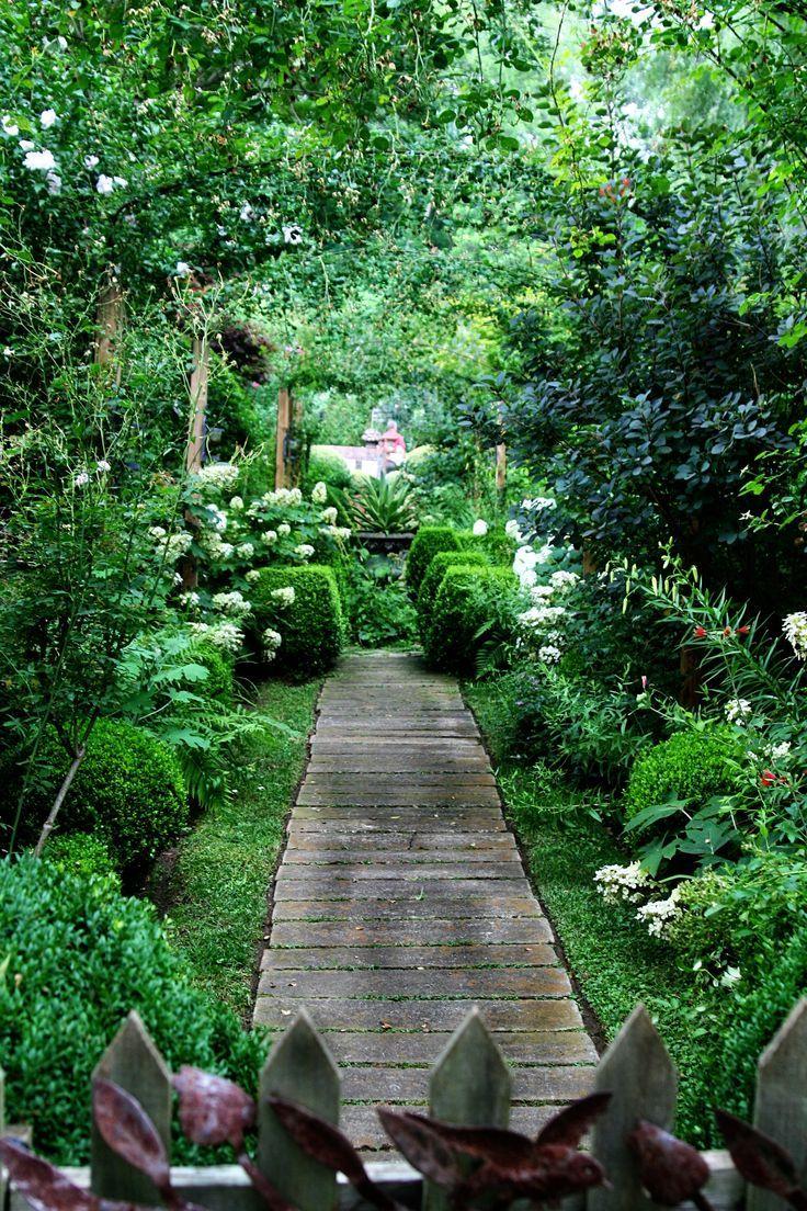 En Caillebotis | Jardin Et Potager | Jardins, Allées Jardin ... concernant Caillebotis De Jardin