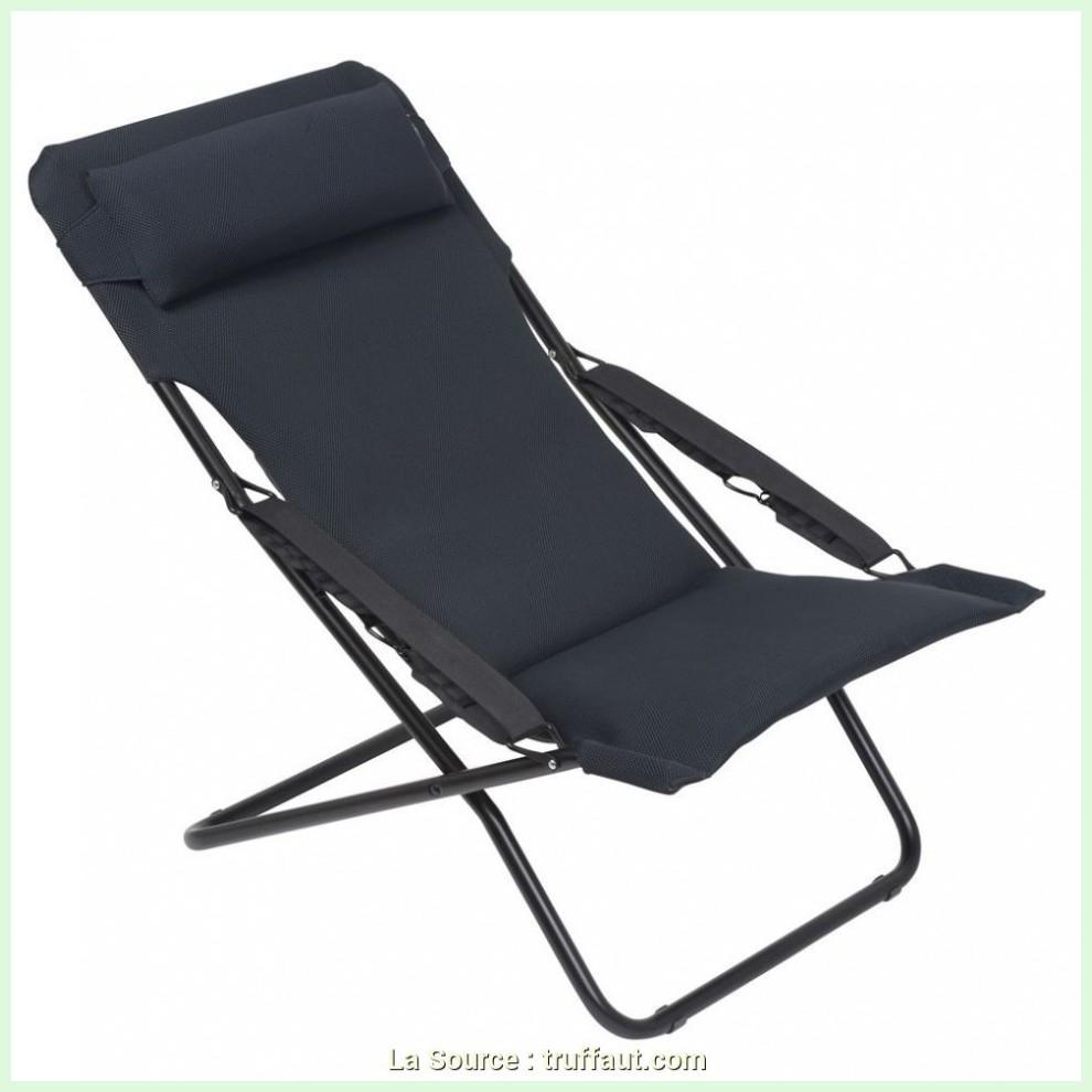 En Expert Truffaut Fauteuil Relax Aluminium Jardin R5Al4J dedans Truffaut Table De Jardin