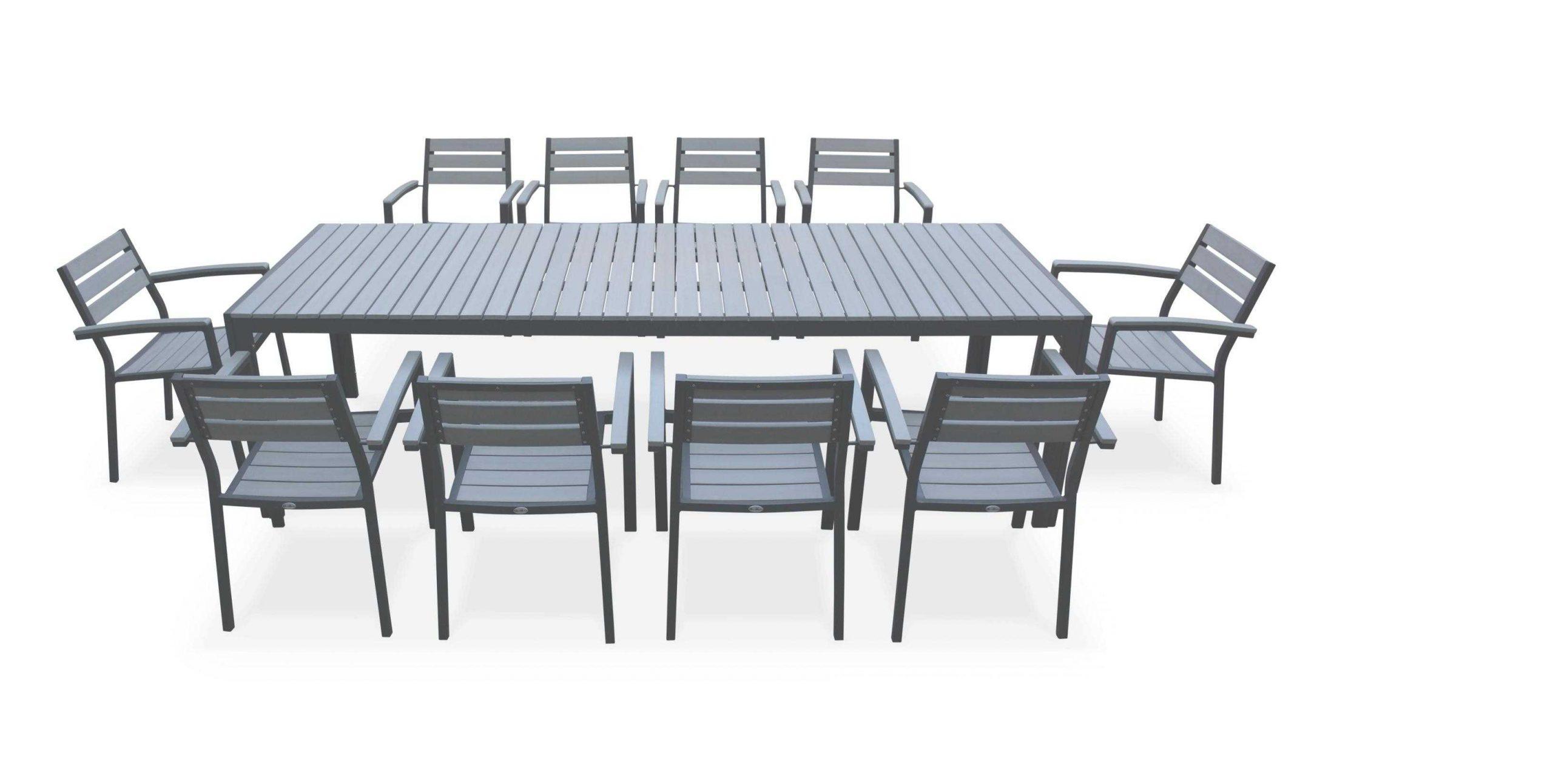 Enchanteur Table De Jardin 10 Personnes Avec Salon Table De ... pour Salon De Jardin 10 Personnes