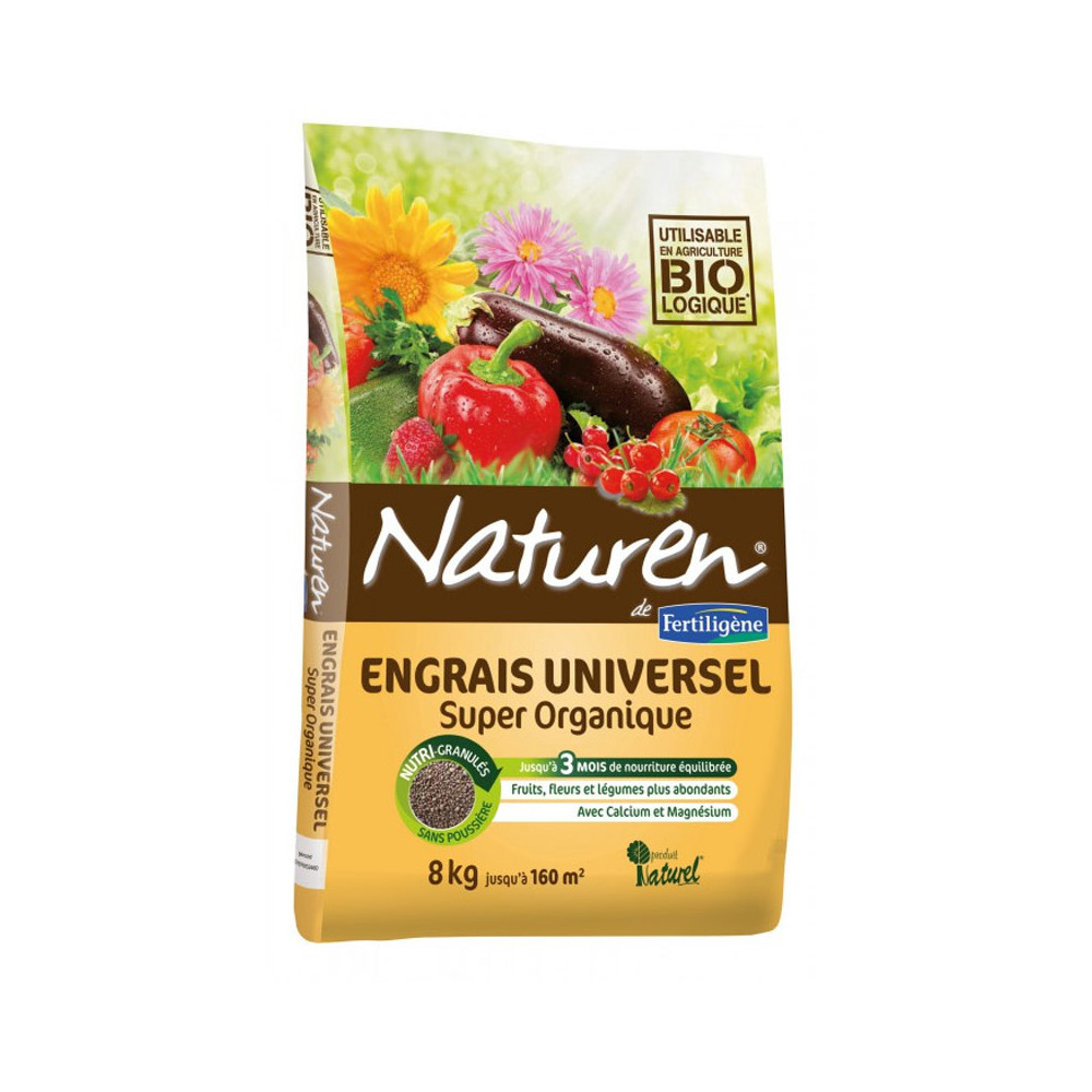 Engrais Complet Super Organique - Traiter - Entretenir ... avec Engrais Bio Jardin