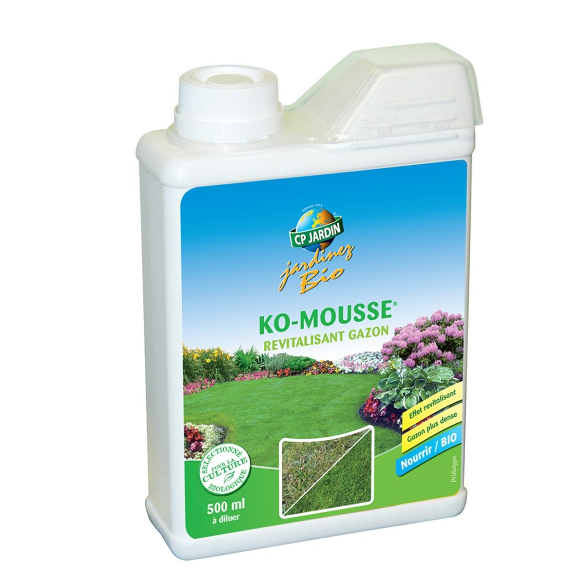 Engrais Gazon K-O Mouss serapportantà Engrais Bio Jardin