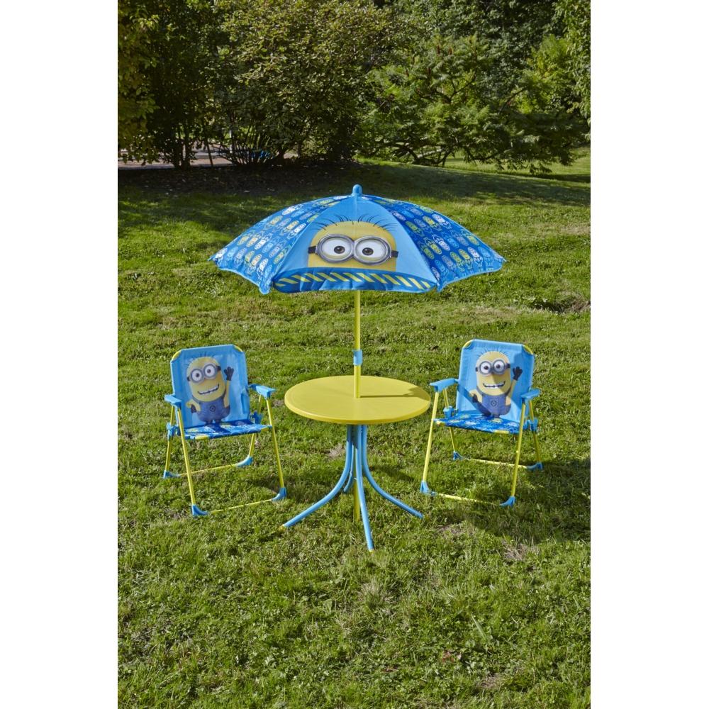 Ensemble De Jardin Minion avec Table Et Chaise Jardin Enfant