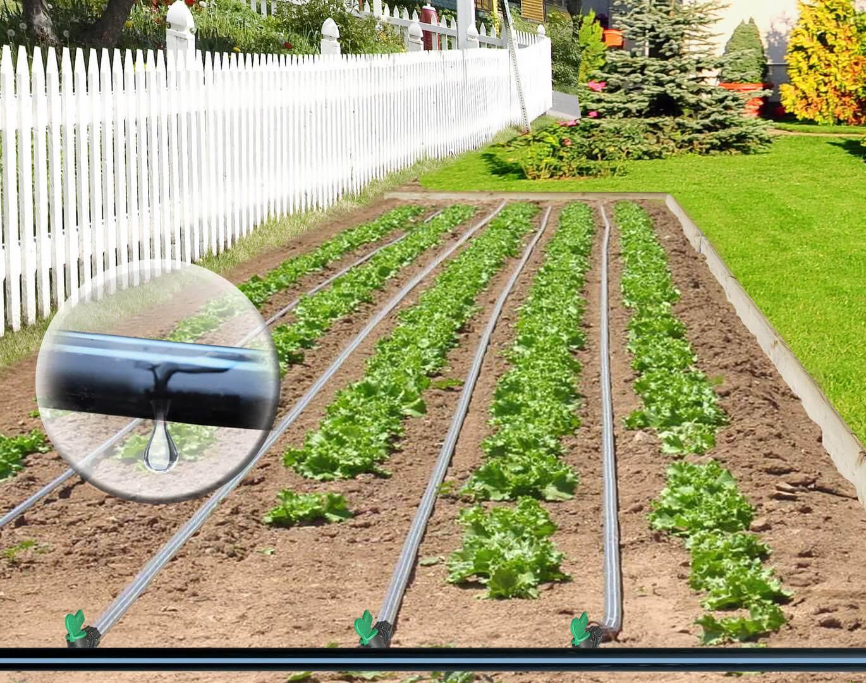 Ensemble D'irrigation Goutte À Goutte Pour Jardin 500 ... concernant Arrosage Goutte A Goutte Jardin