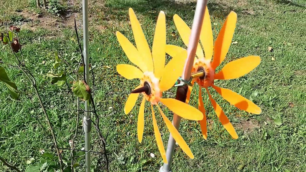 Eolienne De Jardin - Garden Turbine Wind à Construire Une Eolienne De Jardin