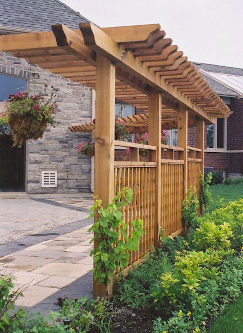 Épinglé Par Annie Delage Sur Terrasses | Amenagement Jardin ... avec Tonelle De Jardin