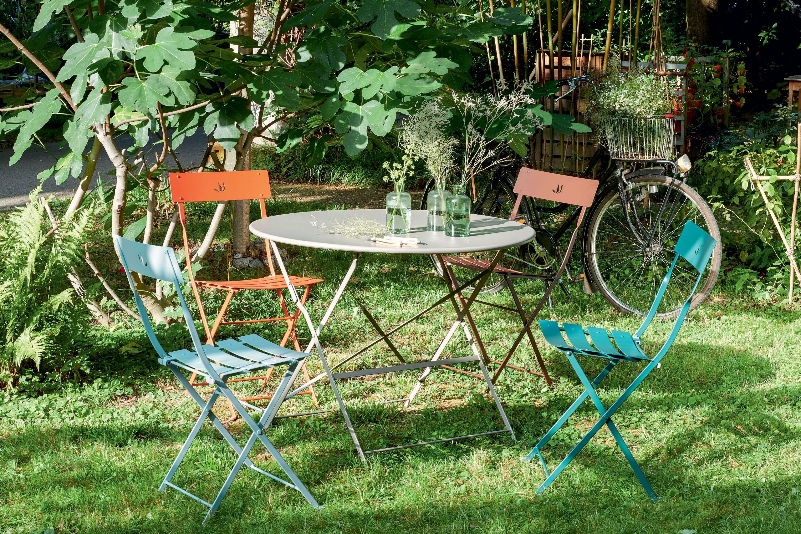 Épinglé Par Jardineries Truffaut Sur Vivre Au Jardin   Table ... dedans Truffaut Table De Jardin