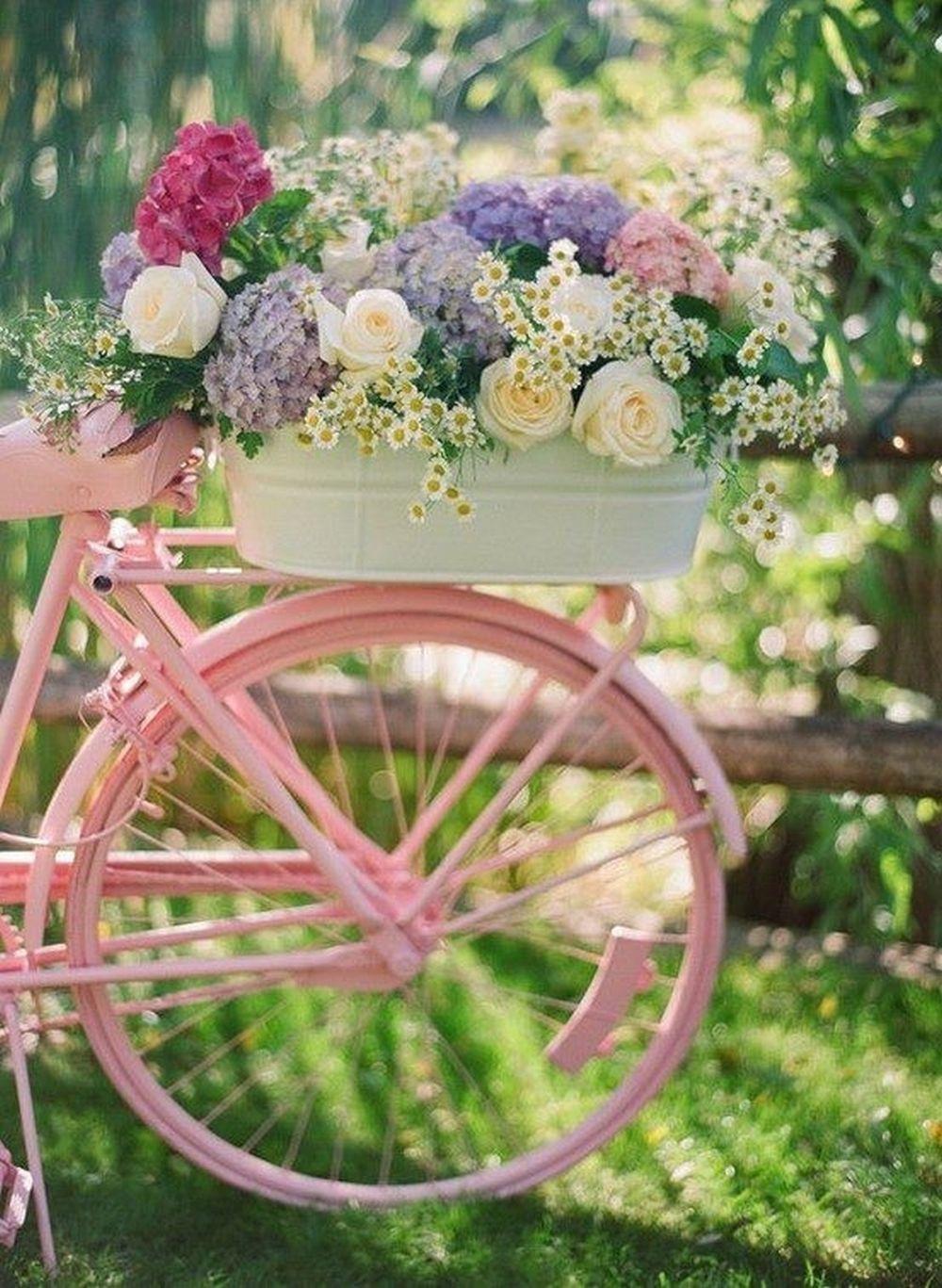 Épinglé Par Jo Wilde Sur Beautiful Bikes Pleasure On 2 ... destiné Velo Deco Jardin