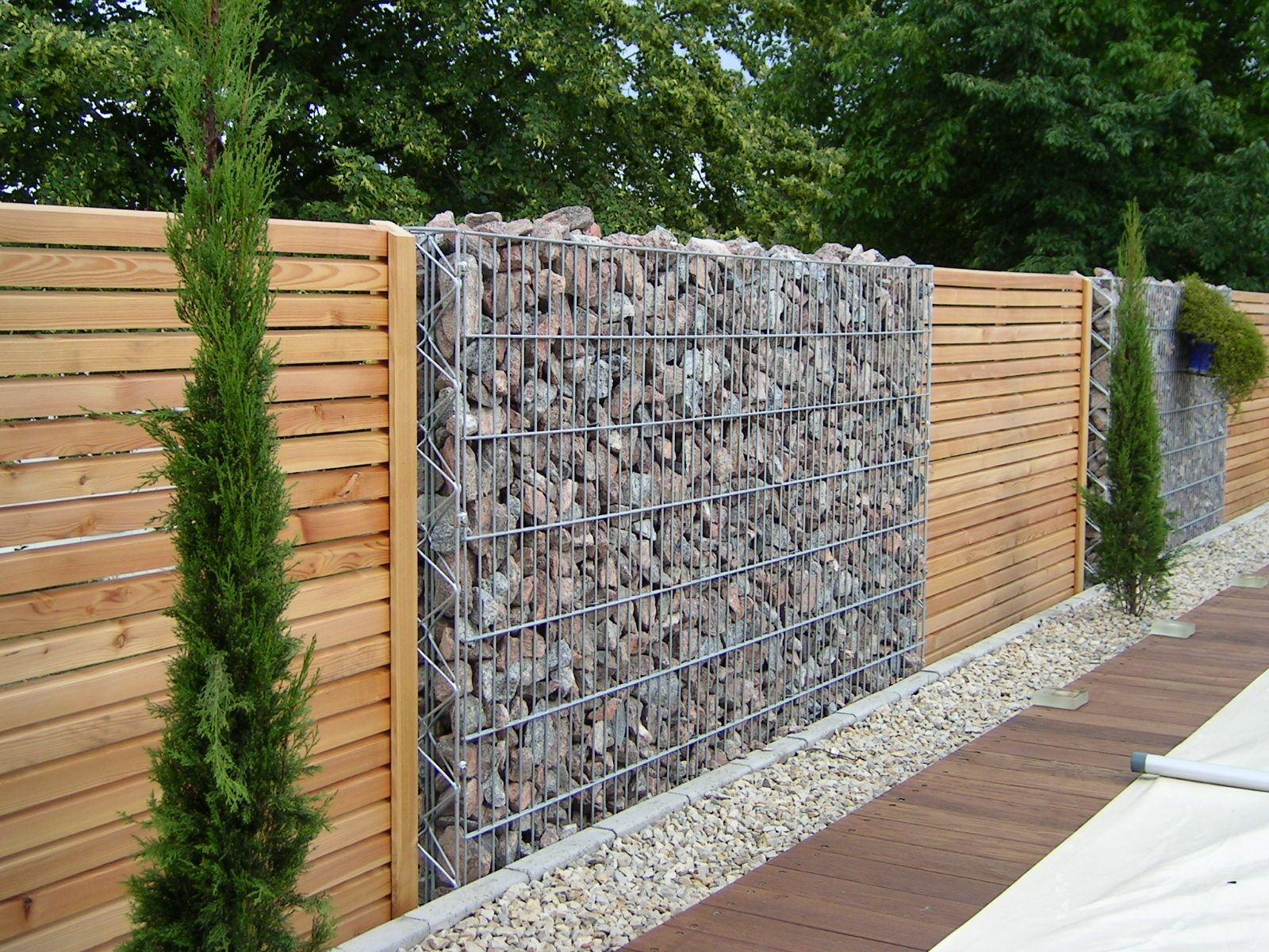 Épinglé Par José Pacheco Sur Arquitectura | Separation ... pour Gabion Deco Jardin