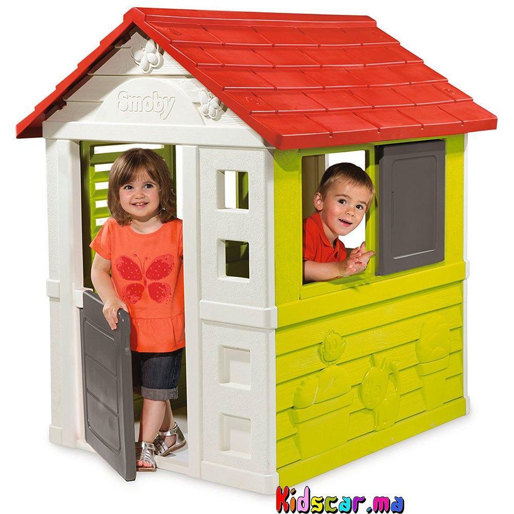 Épinglé Par Kidscar.ma Sur Kidscar.ma : Jeux Jouets Plein ... destiné Maison De Jardin En Plastique