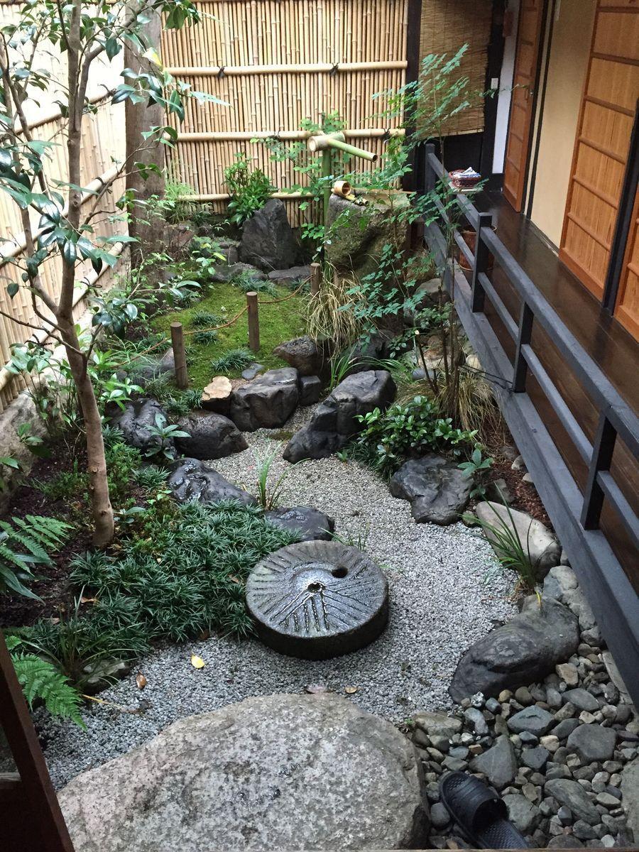 Épinglé Par T.dailler Sur Japon : Niwa Vert + Karesansui ... dedans Fontaine Jardin Japonais