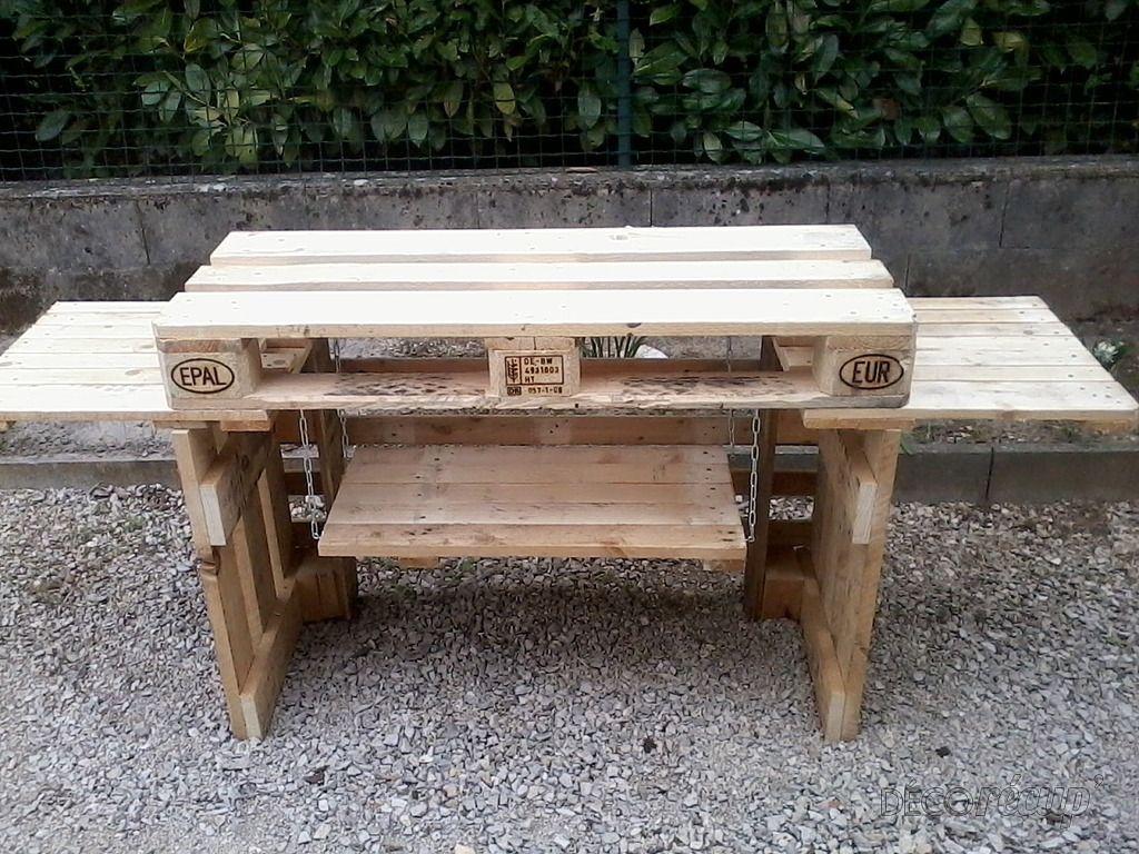 Épinglé Sur Publish_Diy à Plan Pour Fabriquer Une Table De Jardin En Bois