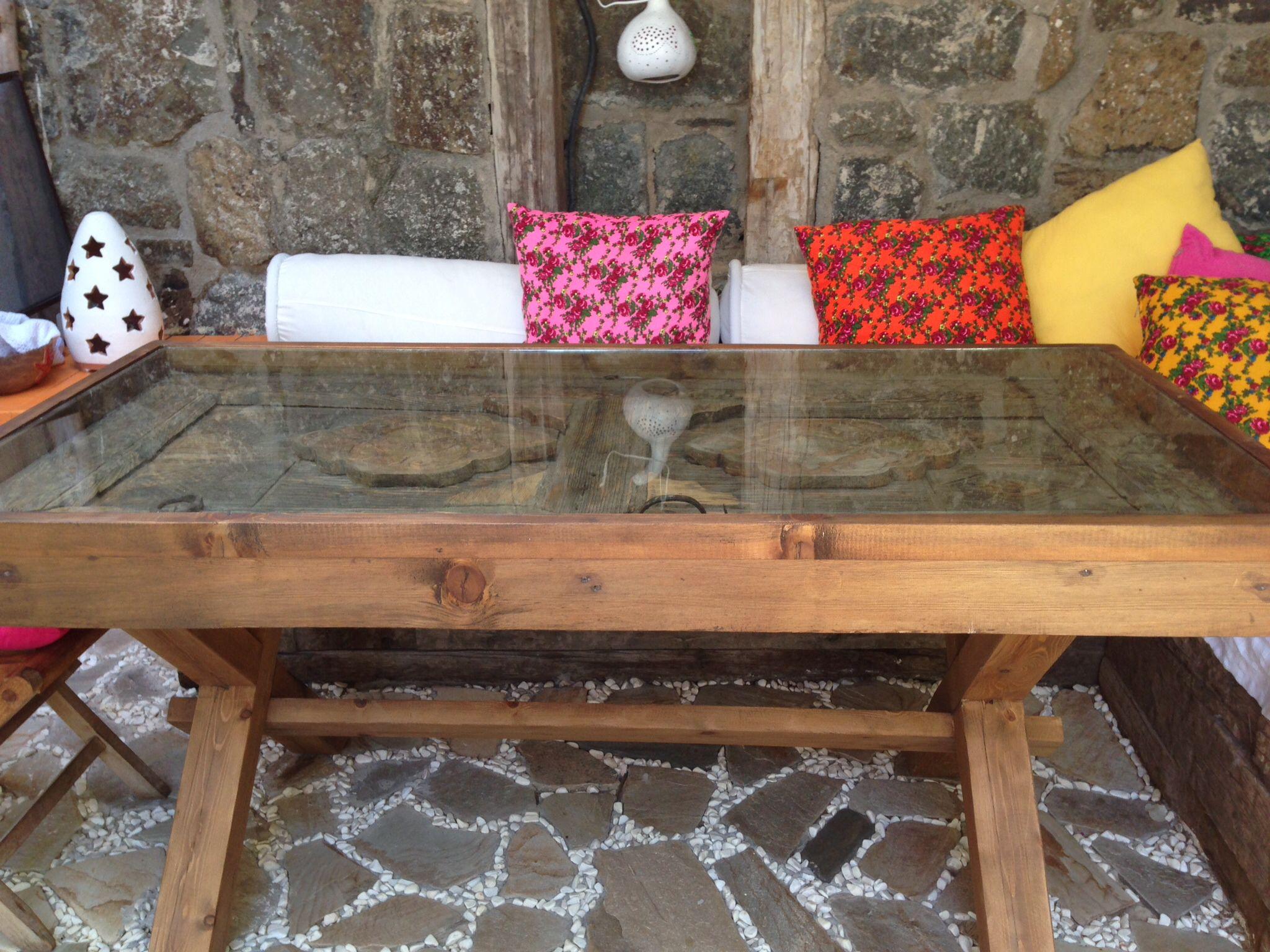 Eski Kapıdan Masa | Mobilya, Ev Için, Ev Dekorasyonu tout Table De Jardin Kettler