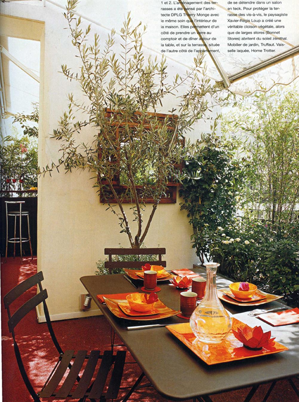 Espace Architecture pour Truffaut Salon De Jardin