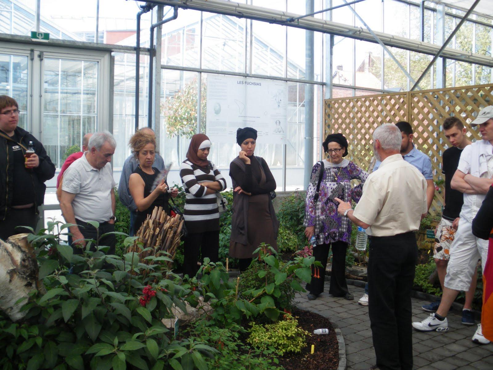 Espace Ouvert D'education Permanente: Visite Guidee Des ... à Serre De Jardin Occasion