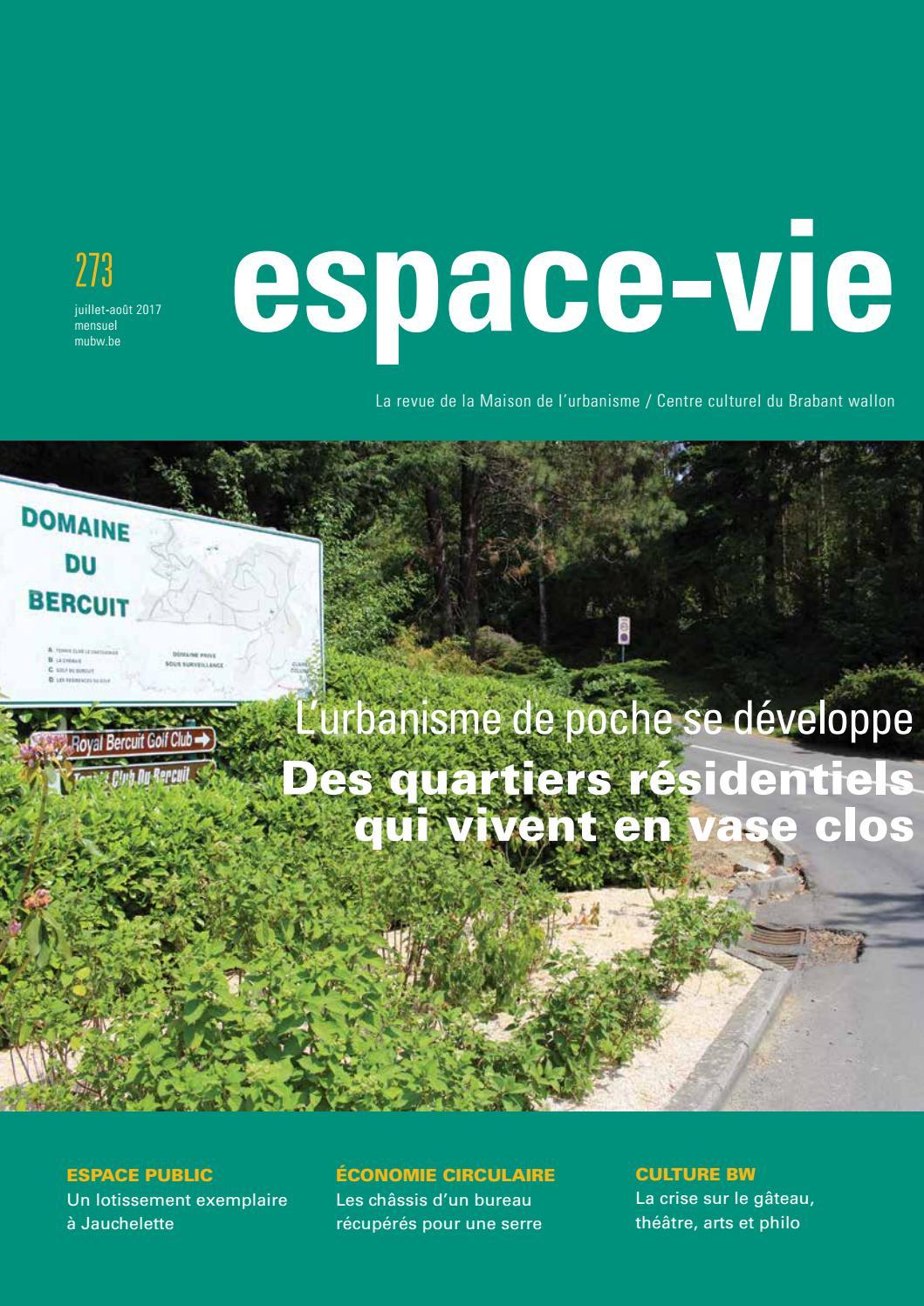 Espace-Vie N°273 | Juillet 2017 - Des Quartiers Résidentiels ... à Dolomie Jardin