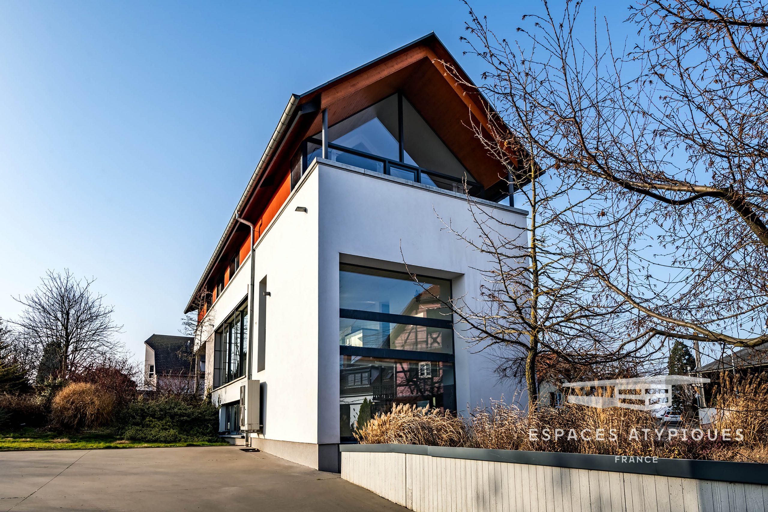 Espaces Atypiques Strasbourg : Loft Terrasse Maison D ... concernant Location Maison Jardin Toulouse