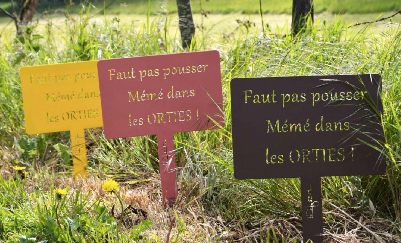 Étiquette Jardin Happiness concernant Etiquettes Jardin