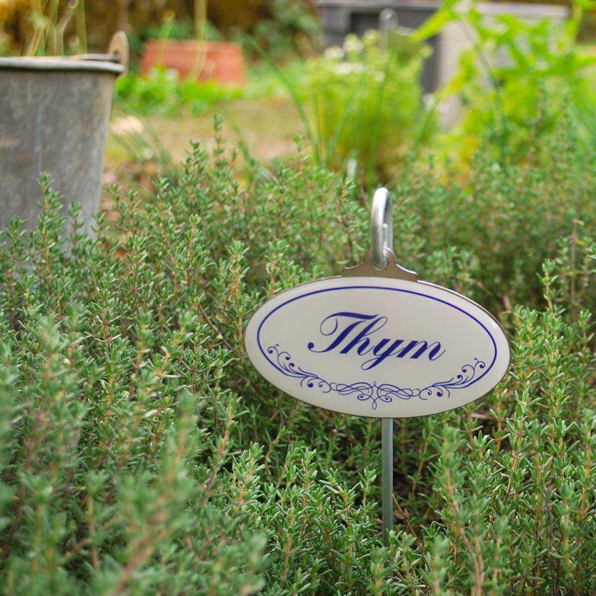 Etiquettes De Jardin Plantes Aromatiques Vintage concernant Etiquettes Jardin