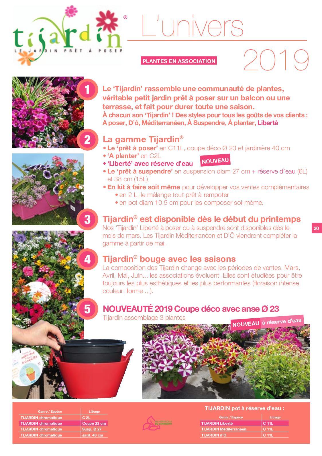 Ets Horticoles Du Cannebeth Catalogue 2019 - Calameo Downloader tout Jardin En Kit Pret A Planter