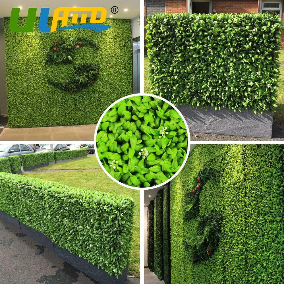 Ev Ve Bahçe'ten Bahçe Yapıları'de Uland Yapay Duvar Çim ... serapportantà Boule Décorative Jardin