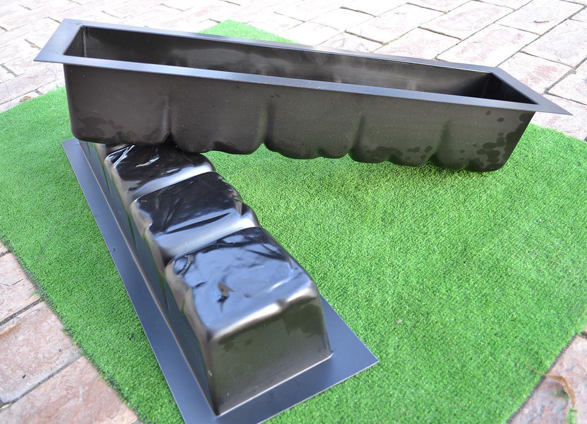 Ev Ve Bahçe'ten Duvar Çıkartmaları'de 2 Parça Kenar Taş ... avec Bordure Jardin Metal