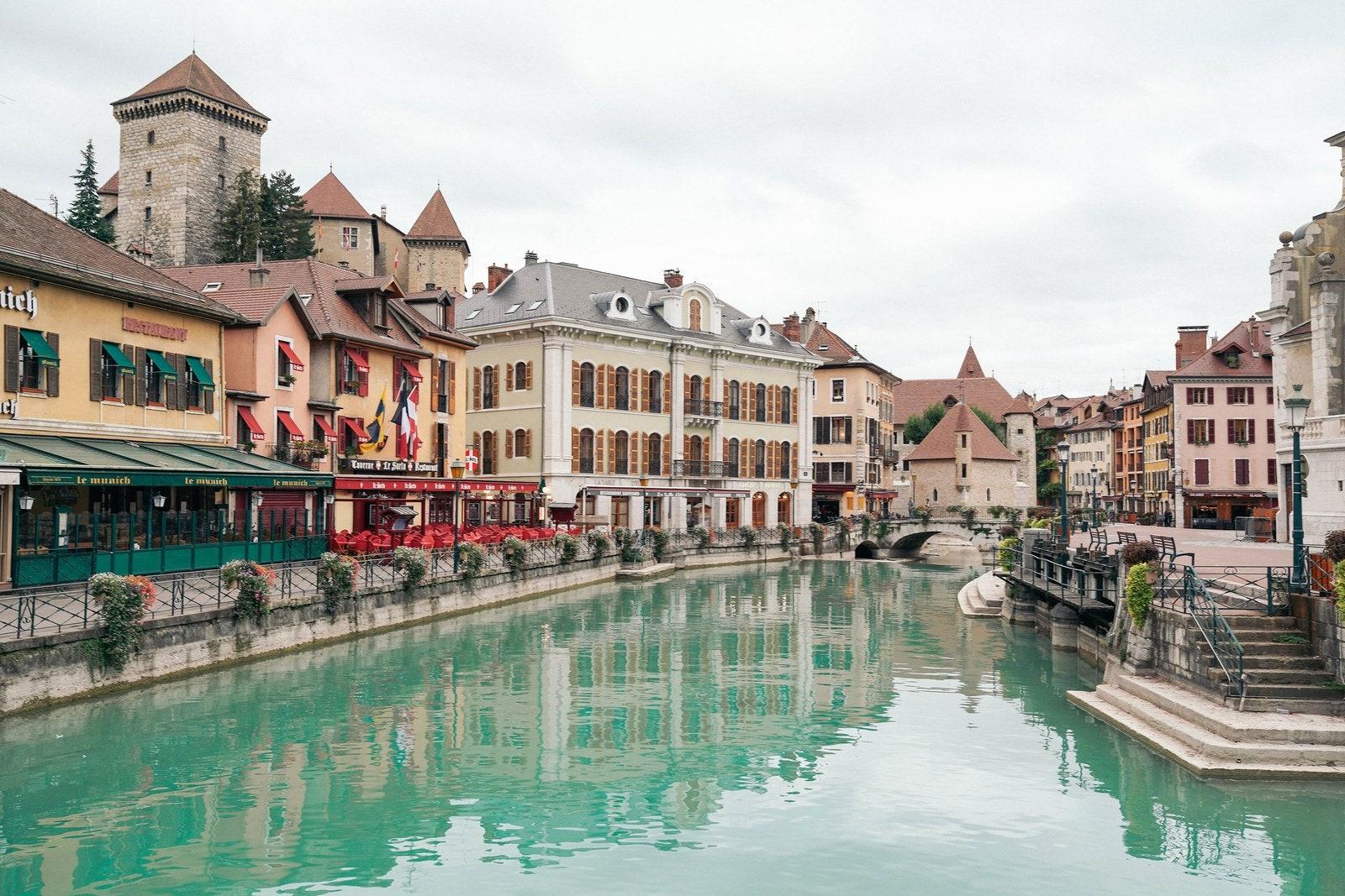 Exploring Annecy, The Venice Of The French Alps | Vogue destiné Les Jardins Du Château Annecy
