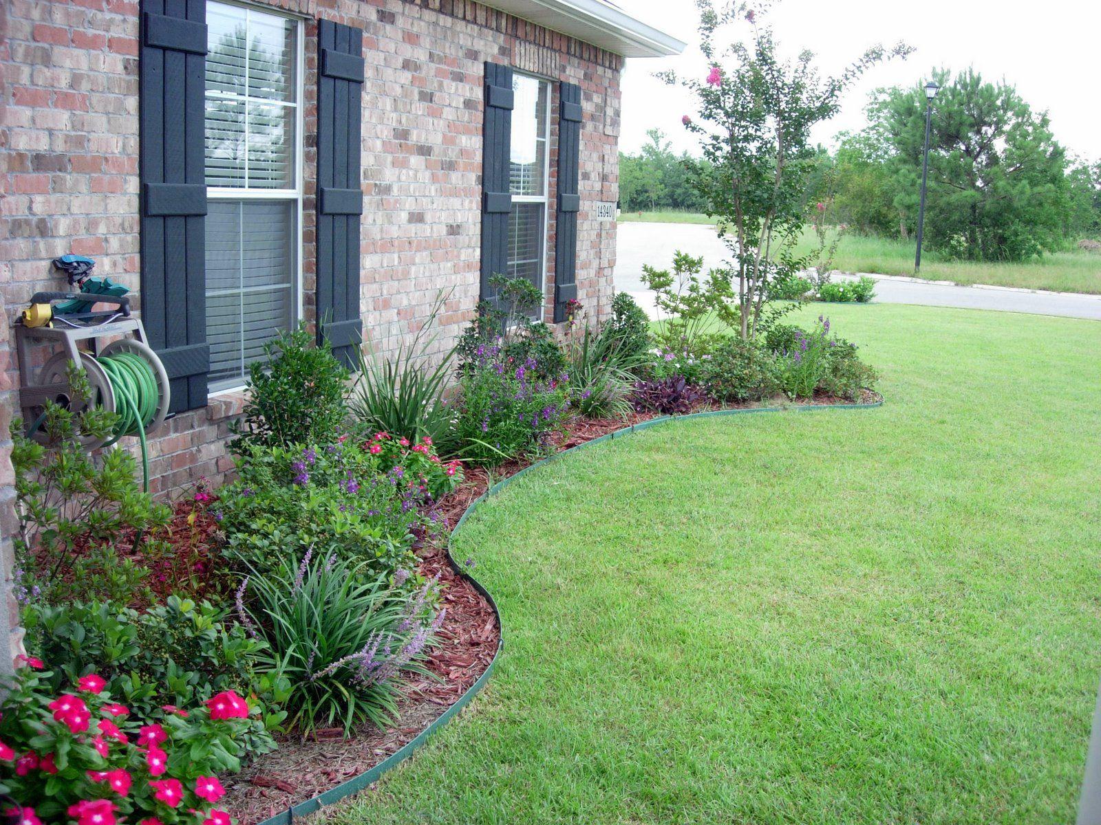 Extérieur | Aménagement De Jardin Devant La Maison ... concernant Idee Amenagement Jardin Devant Maison