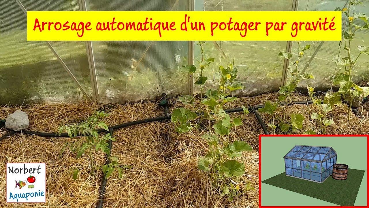 💦 Arrosage Automatique D'un Potager Par Gravité encequiconcerne Systeme Arrosage Jardin Potager